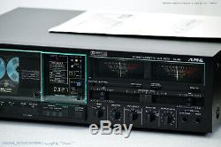 ALPINE AL-90 High-End Cassette Tape Deck 1A Zustand + BDA! Serviced+1J. Garantie