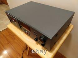 Cosmetically Mint NAD Model 614 Stereo Cassette Tape Deck Audiophile