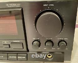 Denon 3-Head Dolby HX Pro Stereo Cassette Tape Deck Model DRM-800A withManual