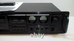 Factory Refurbished Carver TD-1400 Stereo Cassette Deck 1 Year Warrant Free Ship