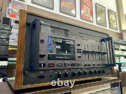 NAKAMICHI 1000ZXL 3 Head Cassette Deck Vintage 1979 THE BEST OF WORLD LIKE NEW