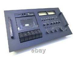 NAKAMICHI 600 II 2 Head Cassette Console Vintage 1975 High End 100% Good Look