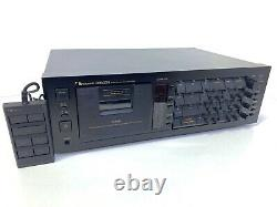 NAKAMICHI DRAGON 3 Head Auto Reverse Cassette Vintage 1982 With Remote LIKE NEW
