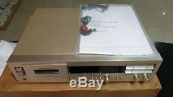 NEW OLD STOCK NAKAMICHI DR10 Gold Cassette Tape Deck 3-Head Vintage RARE DR-10