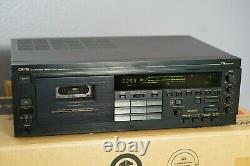 Nakamichi 3 Head CR 7A-Azimuth adjust Cassette Deck-Gear Drive with RM7C remote