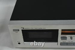 Nakamichi 480 2 Head Stereo Cassette Audio Tape Deck Player/Recorder SERVICED