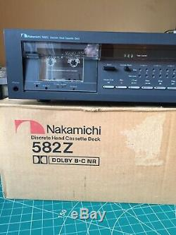 Nakamichi 582Z Discrete Head Reference Cassette Deck (Dolby B&C)