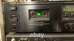Nakamichi CR-3A 3 Head Cassette Tape Deck Used only by the original owner