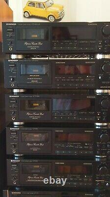 PIONEER CT-939 Tape deck REVISED NEW BELTS AND IDLE TYRE. SUPER CONDITION