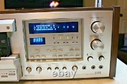 Pioneer CT-F1250 Stereo Cassette Tape Deck, 3-Head, Multi Volt, Belts Replaced