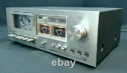 Pioneer CT-F500 Cassette Deck WORKING & REFURBISHED Vintage 1970s Tape Analogue