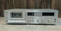 Pioneer CT-F755 Stereo Cassette Tape Deck Player/Recorder Vintage NEEDS BELTS
