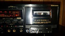 Pioneer CT-W802R Stereo Cassette Deck With Dual Deck Recording REFURBISHED