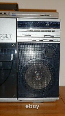 SHARP VZ-2500 Portable Stereo Boombox With Vertical Record Deck