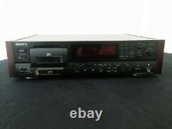 SONY DTC-57ES DAT Digital Audio Tape Deck Recorder with head issue