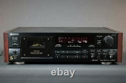 SONY K 870 ES Stereo Tape Cassette Rec. 3 heads wooden panels from HIFI Vintage