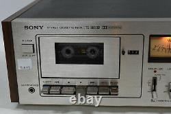 SONY TC-206SD Audio Cassette/Tape Deck Component Vintage Made in Japan