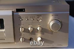 SONY TC-KA3ES 3 HEAD Excellent records/plays back perfectly