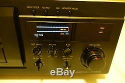 SONY TC-KA7ES Cassette Deck very low usage, new belts, excel condition