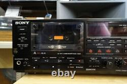 SONY TC-WR950 Double Cassette Tape Deck Player Recorder Stereo