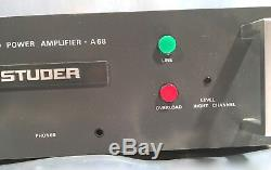 STUDER A68 stereo Endstufe 19 Zoll