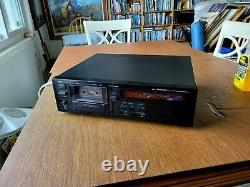 Serviced/Calibrated Yamaha KX-1200 3 head TOTL cassette deck WITH REMOTE