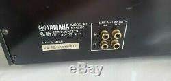 Serviced/Calibrated Yamaha KX-1200 3 head TOTL cassette deck amazing performance