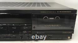 Sony Stereo Cassette Deck TC-WR8ES Headroom Extension System HX Pro