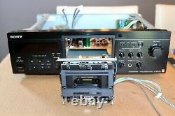 Sony TC-KA3ES stereo cassette deck DOLBY B C S HX with remote SERVICED TESTED