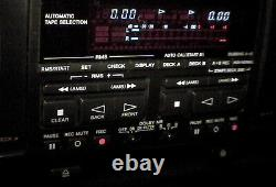 Sony TC-WE805s Pro-Grade Dual Tape Deck withpitch control. Very Rare Vintage