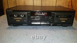 Sony TC-WR635S Cassette Deck With Dolby S Noise Reduction. REFURBISHED