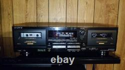 Sony TC-WR645S Cassette Deck With Dolby S Noise Reduction. REFURBISHED