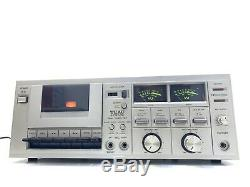 TEAC A-108 Sync High End Stereo Cassette Deck Vintage 1979 Refurbished Good Look