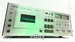 TEAC A-640 High End Stereo Cassette Deck Wood Box Vintage Refurbished Like NEW