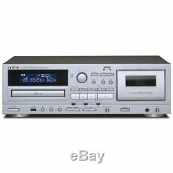 TEAC AD-850 CD / Cassettes Tape Player USB Microphone Input from Japan