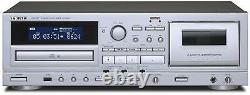 TEAC AD-850 CD / Cassettes Tape Player USB Microphone input From Japan F/S NEW