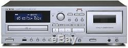 TEAC CD Cassettes Tape Decks Player AD-850 MP3 Record from Cassettes