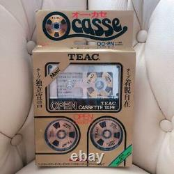 TEAC O casse OC-2N Open Cassette Gold withBox NEW F/S