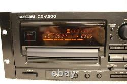 Tascam Cd-a500 Professional CD Cassette Deck Combo Player No Remote