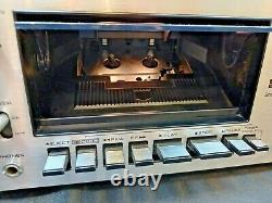 Techincs RS-615US 615 WORKING & REFURBISHED Vintage Cassette Tape Deck 1970s