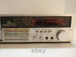 Technics RS-M255x Stereo Cassette Deck 2 Motor System Excellent Tested Working