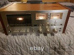 Vintage Pioneer Stereo Cassette Tape Deck Dolby System CT-F9191 untested