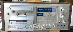 Vtg Pioneer CT-F1250 Stereo Cassette Tape Deck Asis Works Tlc