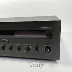 Yamaha KX-330 Vintage 2 Head Cassette Deck. With manual and remote